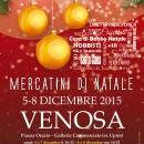 La magia dei mercatini di Natale dal 5 all'8 dicembre a Venosa