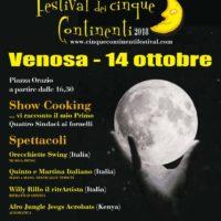 Torna a Venosa il Festival dei Cinque Continenti con la XIV edizione