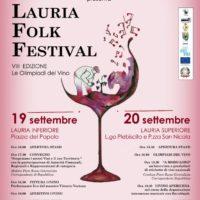 Artistica Management presenta l'ottava edizione del Lauria Folk Festival